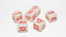 Combat Dice RED | Tokens for Warhammer Age of Sigmar