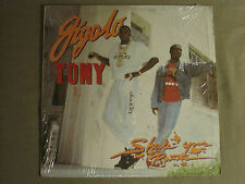 "GIGOLO TONY SHAKE YOUR PANTS 12"" ORIG '88 4 SIGHT MIAMI BASS RAP VG+ IN SHRINK!"