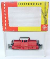 Fleischmann HO 1/87 DB HISTORIC DIESEL LOCOMOTIVE Red 1306 Nice! NMIB`70!