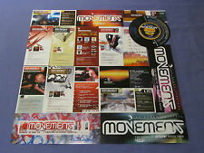 17 MOVEMENT JUNGLE DNB RAVE FLYERS 1 NATION ACCELERATED CULTURE V FULL CYCLE PK1