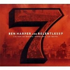 "BEN HARPER ""LIVE FROM THE MONTREAL JAZZ..."" CD+DVD NEU"