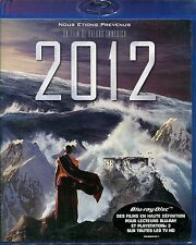 """Blu ray """"2012"""" Roland Emmerich      neuf sous blister"""