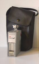 Gray Nikon Pepular 201 Solid State Flash Unit Mount and Black Case