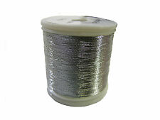 OLDE FLY SHOP ROD BUILDING METALLIC THREAD 100YDS SIZE A  WHITE #YC119