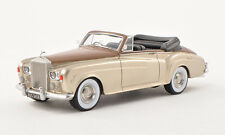 BoS 1964 Rolls Royce Silver Cloud III DHC Brown/Gold Color 1:43 New Very Rare!