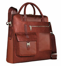 Piquadro Burnt orange Vertical computer bag w/ two handles CA1586FR/AR