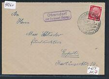 91260) DR   DDR Landpost Ra2 Oberndorf über Hermsdorf (Thüring.) OWST Brf 1941