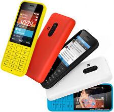 Original Nokia 220 - Black (Unlocked) Cellular Phone Dual Sim GSM Bar 2MP MP3