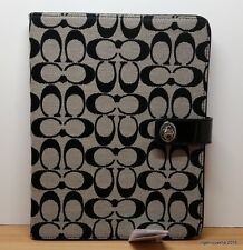 COACH Signature Turnlock iPad Cover *NWT*