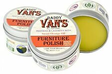 Daddy Van's All Natural Beeswax Furniture Polish Lavender and Sweet Orange 5 Oz