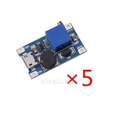 5pcs DC-DC 2A Adjustable Boost Power Supply Converter Step Up Module 2-24v Input