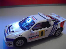 Scalextric  Ford Rs 200 Rally Race Madrid 1987 1/32 Nuevo New
