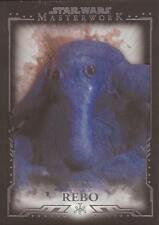 "Star Wars Masterwork - ""Max Rebo"" Base Card #44"