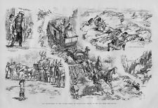 HIGHWAYMEN OF THE PLAINS PERILS OF STAGECOACH TRAVEL ROBBERS HOLD UP AND INDIANS