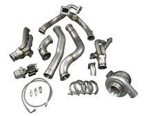 T76 Turbo Manifold Header Downpipe Wastegate Kit 98-02 Chevrolet Camaro LS1
