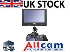 """LILLIPUT 7"""" MONITOR HD campo per videocamere professionali, reflex digitale con HDMI"""