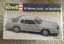 1987 Monte Carlo SS 87 88 Sealed USA Made!! Vintage Aeroback Aerocoupe