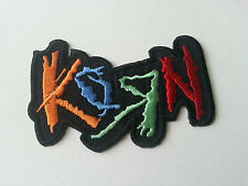 HEAVY METAL PUNK ROCK MUSIC SEW / IRON ON PATCH:- KORN (c) PATCH No. 0030