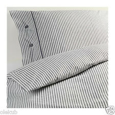 IKEA NYPONROS King Duvet Cover And 2 Pillowcases Gray
