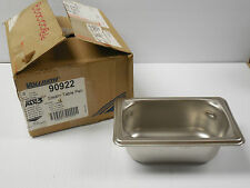 "(6) VOLLRATH S/S STAINLESS STEEL STEAM TABLE PAN 90922 1/9 2.5"" (2-1/2"") DEEP"