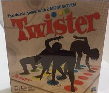 Twister Get moving with the Twister game! It's the on-the-floor party