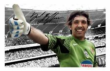 GIANLUIGI BUFFON - ITALY AUTOGRAPHED SIGNED A4 PP POSTER PHOTO