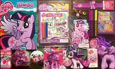 My Little Pony FIM Princess Twilight Sparkle 15 Item Gift Set! LOT Figures Plush