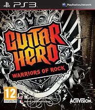 Ps3 juego Guitar Hero 6 Warriors of Rock como nuevo