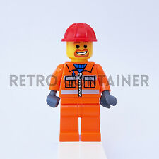 LEGO Minifigures - 1x cty111 - Construction Worker - Omino Minifig Set 6187 7633