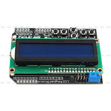 1602 LCD Board Blue Backlight display Keypad Shield module for Arduino R3 Robot