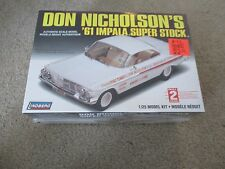 Lindberg Don Nicholson's '61 1961 Impala Super Stock Model Kit 1:25 MISB Sealed