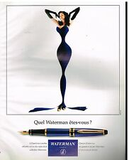 Publicité Advertising 1994 Le Stylo Plume Expert Waterman