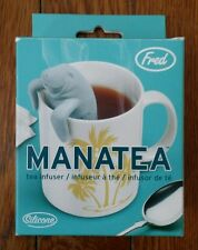 MANATEA INFUSER TEA MANATEE DRINK TEAPOT INFUSE GIFT FUN REUSABLE COLLECTABLE