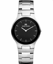 Danish Design IQ63Q950 Black Dial Stainless Steel Quartz Classic Men's Watch