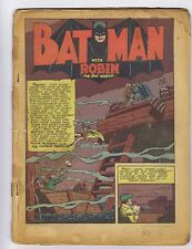 Detective Comics 54 Coverless & miss. 6 pgs. (PG-GD $245) Golden Age (c#02709)