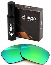 Polarized IKON Iridium Replacement Lenses For Oakley Jupiter Squared Emerald