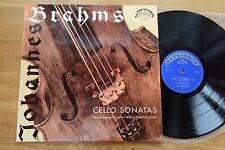 BRAHMS Cello Sonate NAVARRA HOLECEK raro LP Supraphon STANDARD USER ANALYZER
