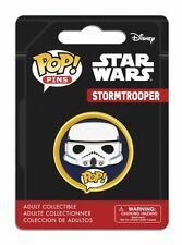 OFFICIAL DISNEY POP! STAR WARS STORMTROOPER METAL PIN BADGE *NEW*