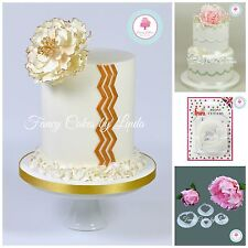 FMM Peony Rose Sugarcraft Flower Cutter Set FREE 1st Class 1 DAY DISPATCH