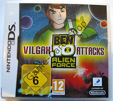 Nintendo DS - BEN 10 ALIEN FORCE - VILGAX ATTACKS - komplett - gebraucht