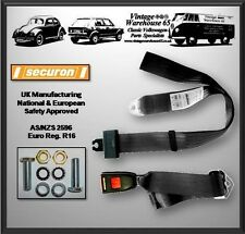 Vw Transporter T4 Camper 2 Point Adjustable Centre Middle Seat Lap Belt Kit 1