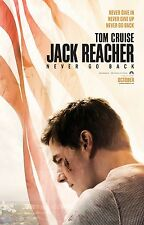 JACK REACHER PUNTO DI NON RITORNO NEVER GO BACK MANIFESTO TOM CRUISE ZWICK