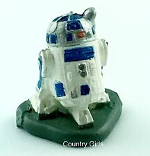 Star Wars R2D2 Droid Robot Figurine Micro Machines Galoob Miniature r2 d2