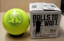 10# 4 oz TW 1.2, Pin 2-3 NIB DV8 MISFIT NEON YELLOW Bowling Ball
