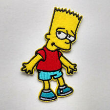 The Simpsons Bart Simpson Embroidered Sew On/Iron On Patch Appliqué