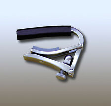 Shubb Capos S1 Deluxe Stainless Steel Steel String Guitar Capo