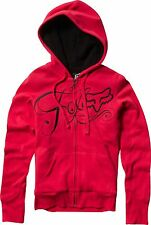 Fox Racing Fox Girl Top Rider Sherpa Hoody Red, Large