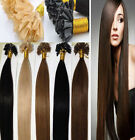 AAAA 16''-24'' Keratin Nail /U Tip Pre Bonded Remy 100% Human Hair Extensions