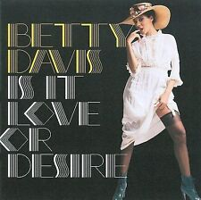 Betty Davis- Is It Love or Desire (2009  Light in the Attic Records CD) NEW!
