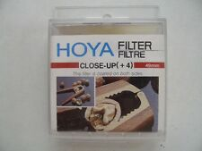 Hoya Close Up Filter (+4)  49mm.